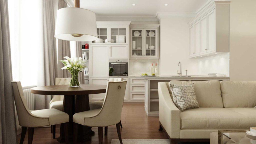 кухня столовая (дизайн интерьера)