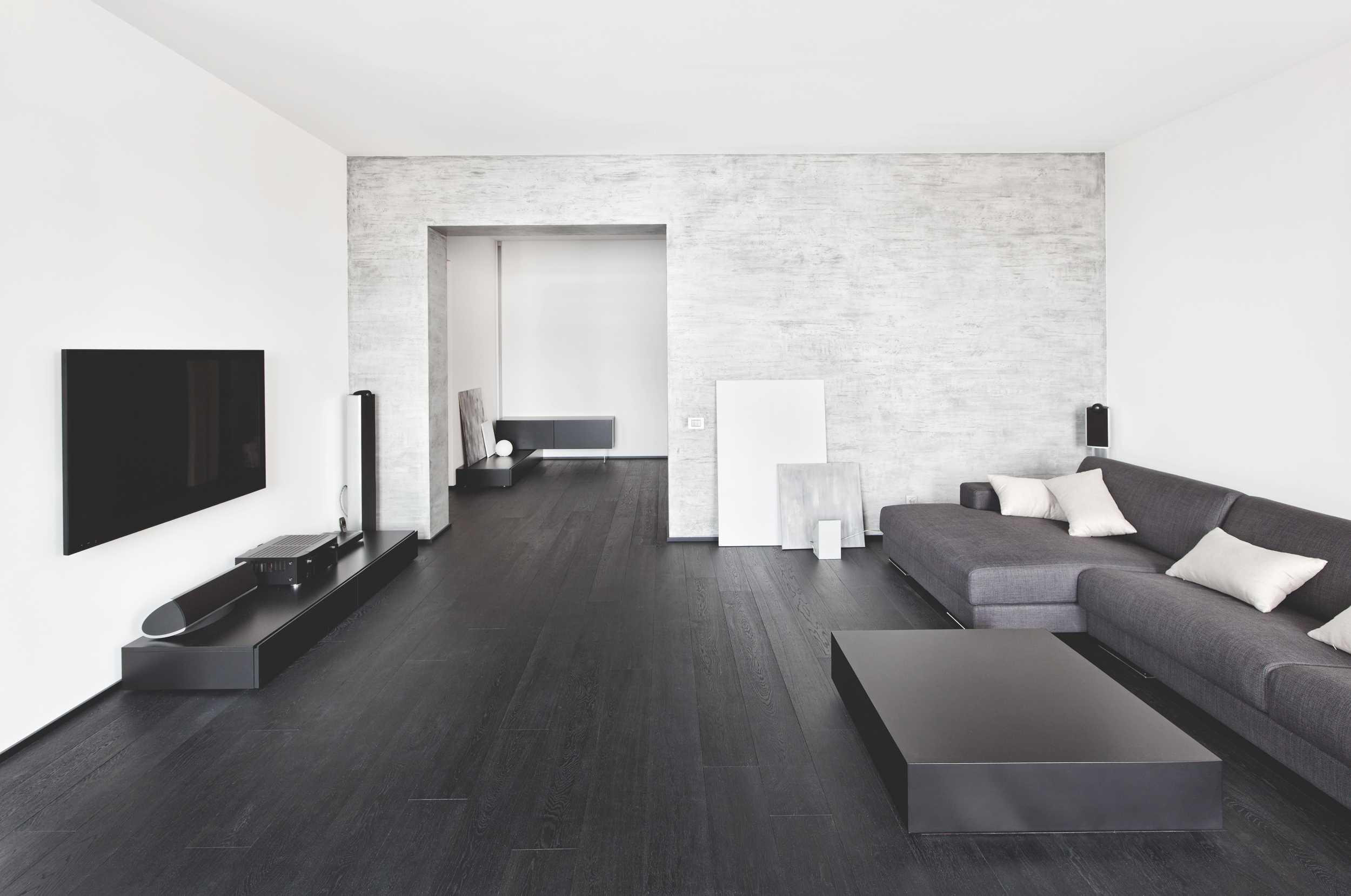 Дизайн гостиной в минималистическом стиле