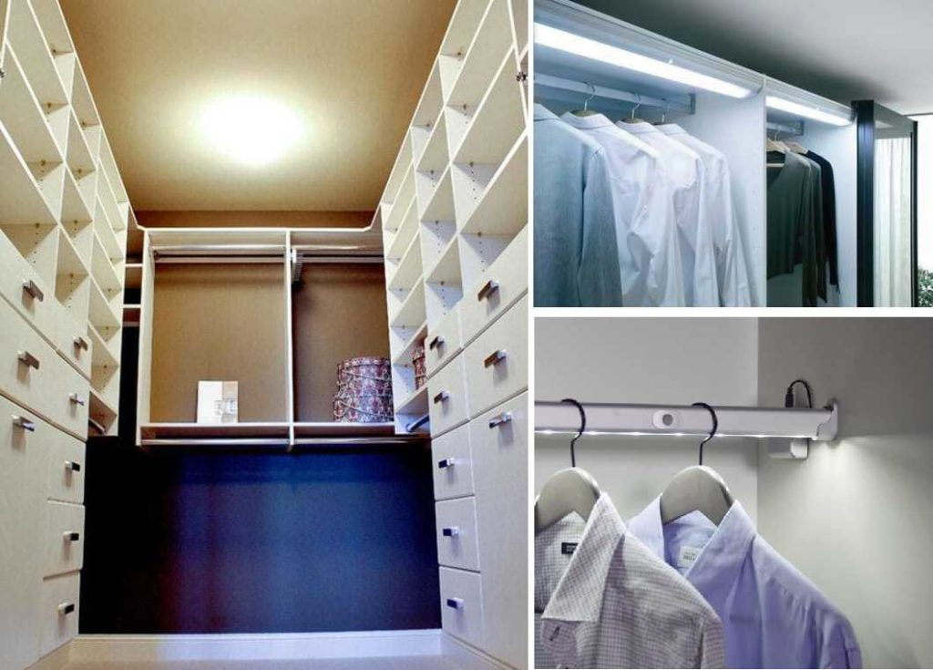 потолок в гардеробной