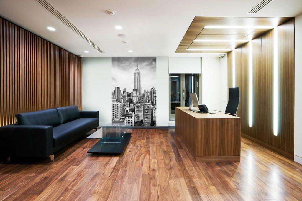 интерьера офиса в современном стиле