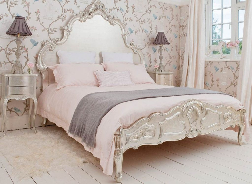 спальная комната в стиле прованс