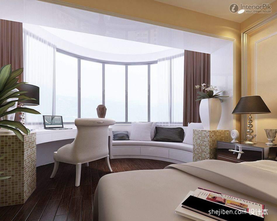 дизайн эркера в гостиной фото