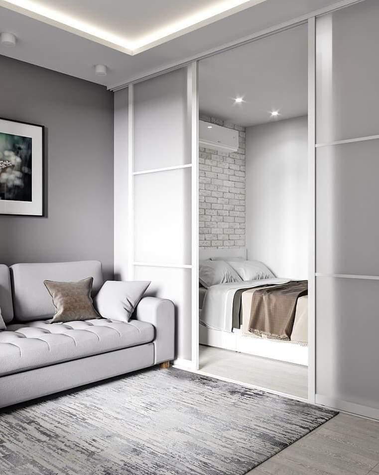 дизайн студии 28 квадратных метров