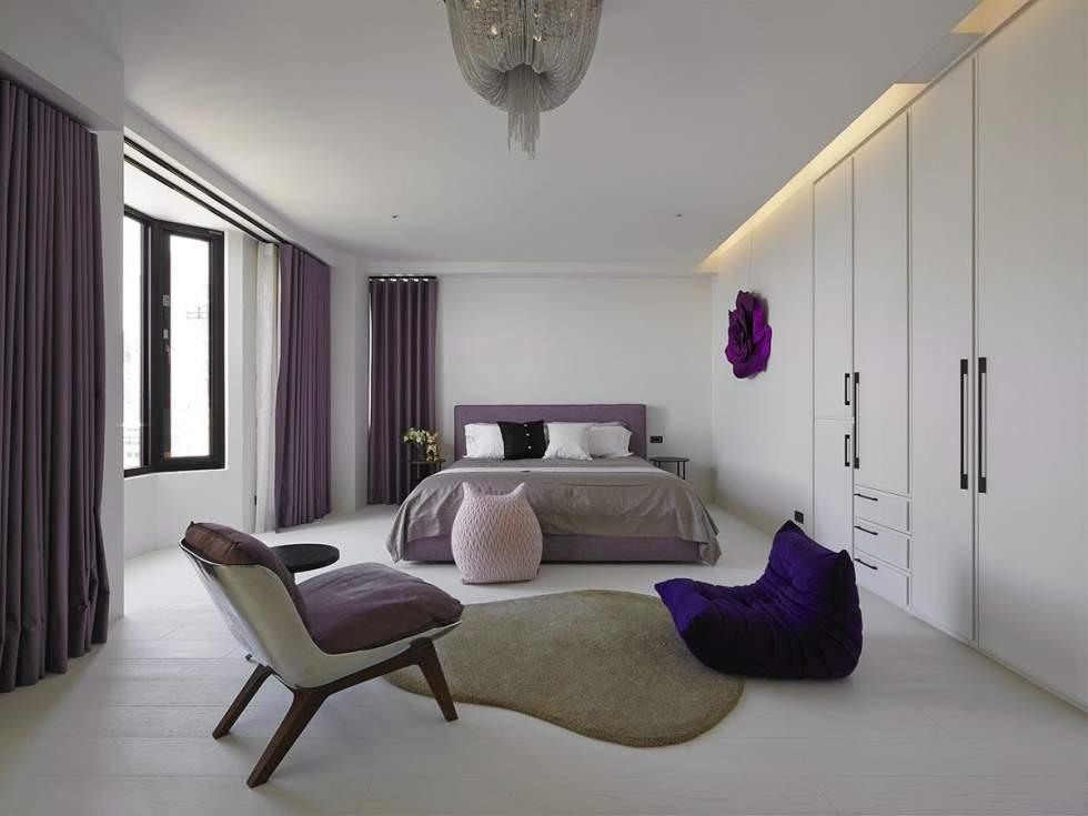 стильная спальня дизайн фото