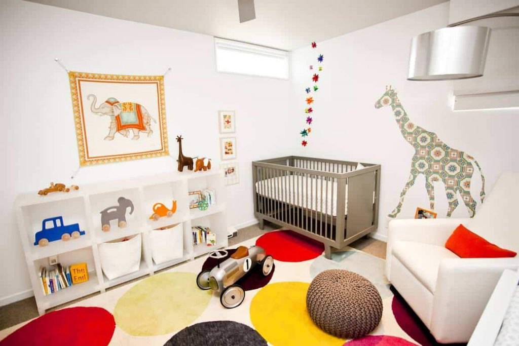 Детская комната до 3-х лет