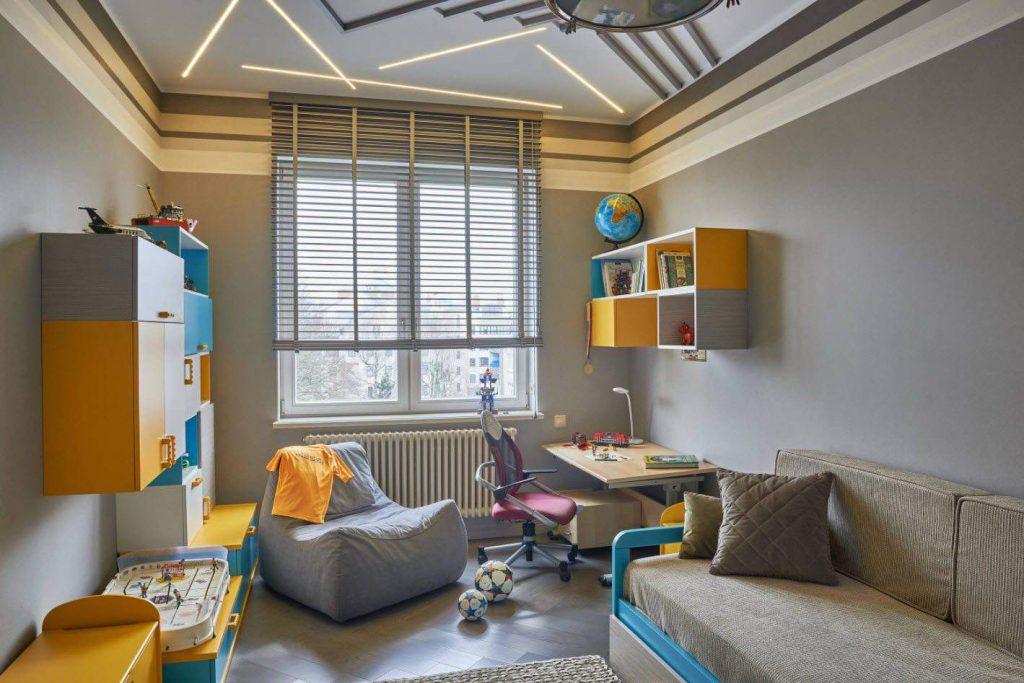 дизайн комнаты для школьника
