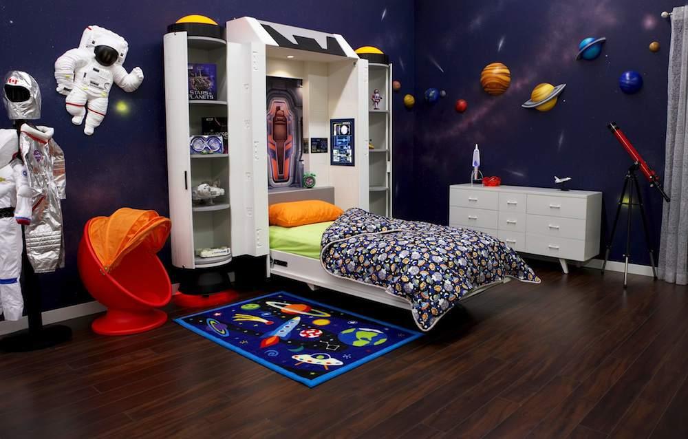 Детская в космическом стиле