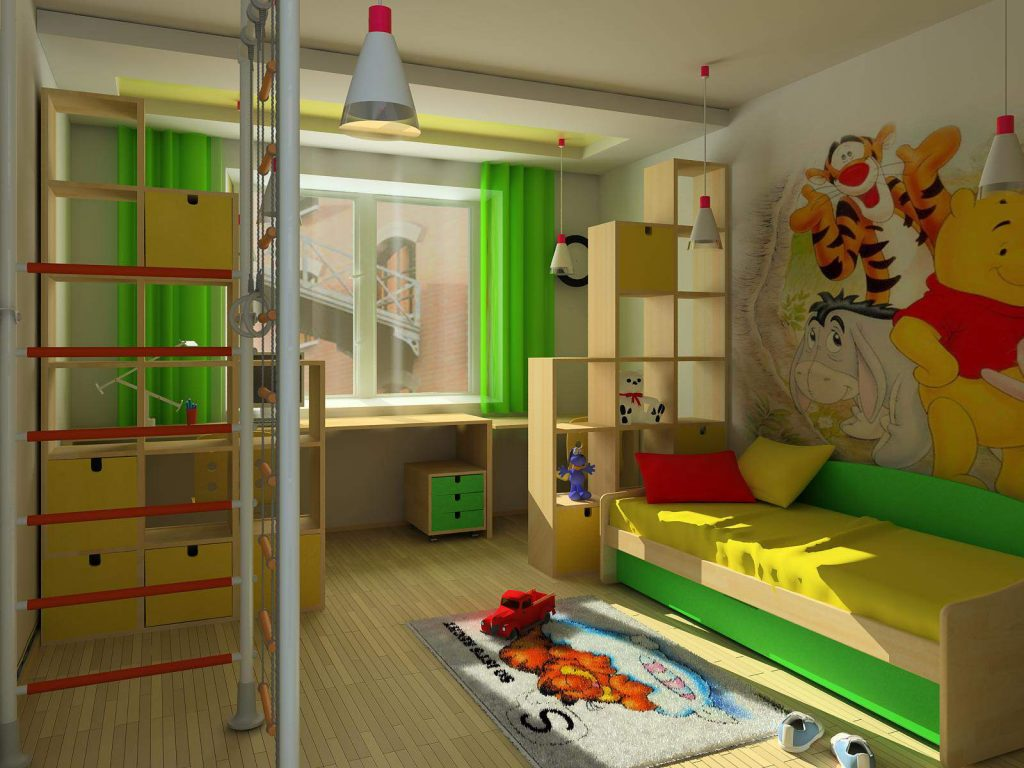 дизайн детской спальни для мальчика