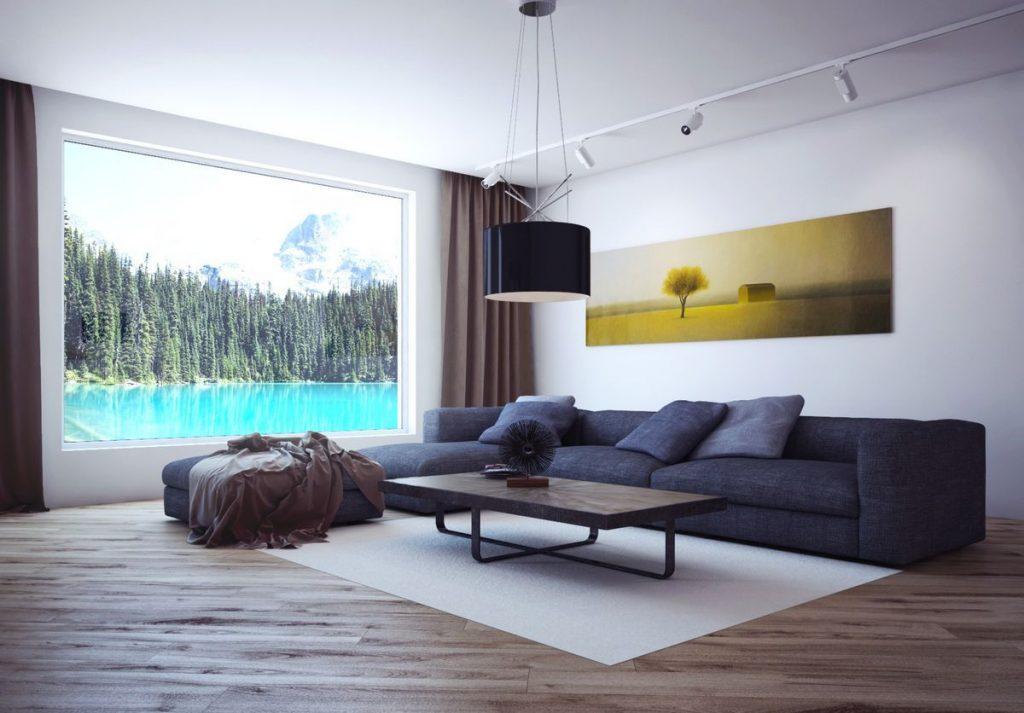 Dizajn gostinoj v stile minimalizm 31