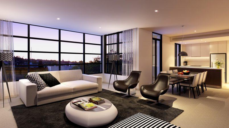 Дизайн квартиры в современном стиле, фото