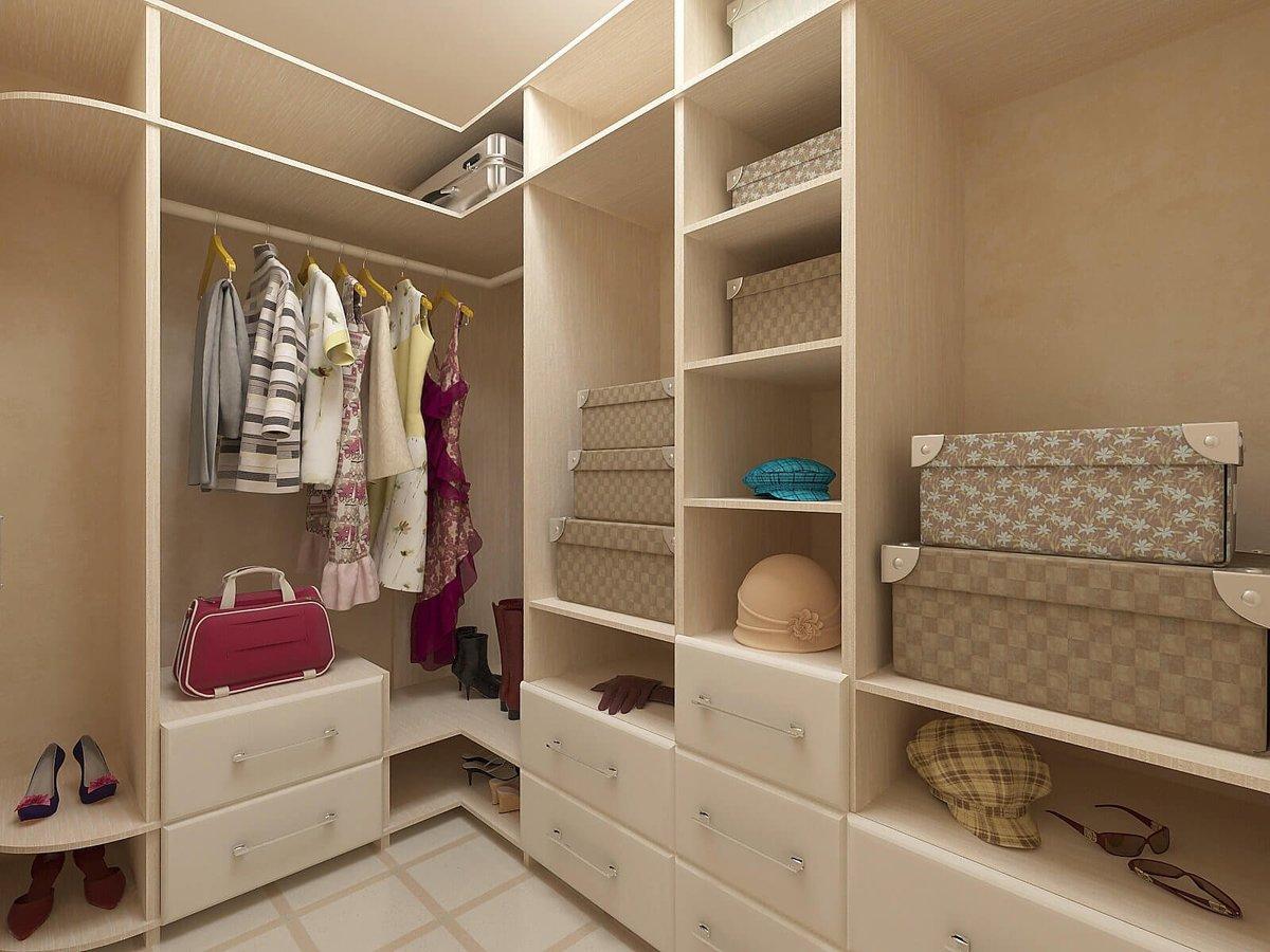 проекты гардеробных комнат фото помощью