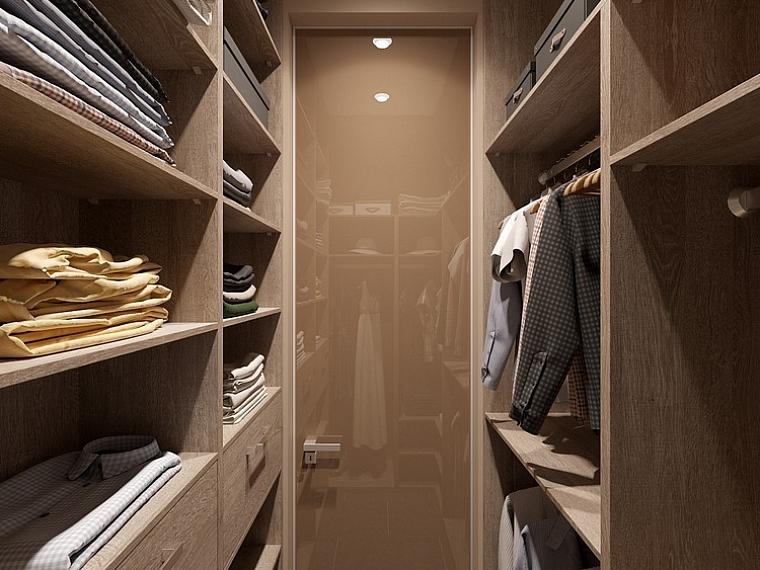 маленькие гардеробные комнаты дизайн проекты фото