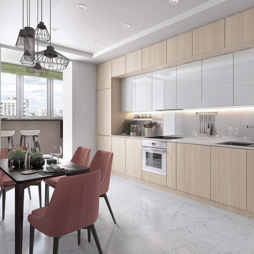 кухня минимализм дизайн фото