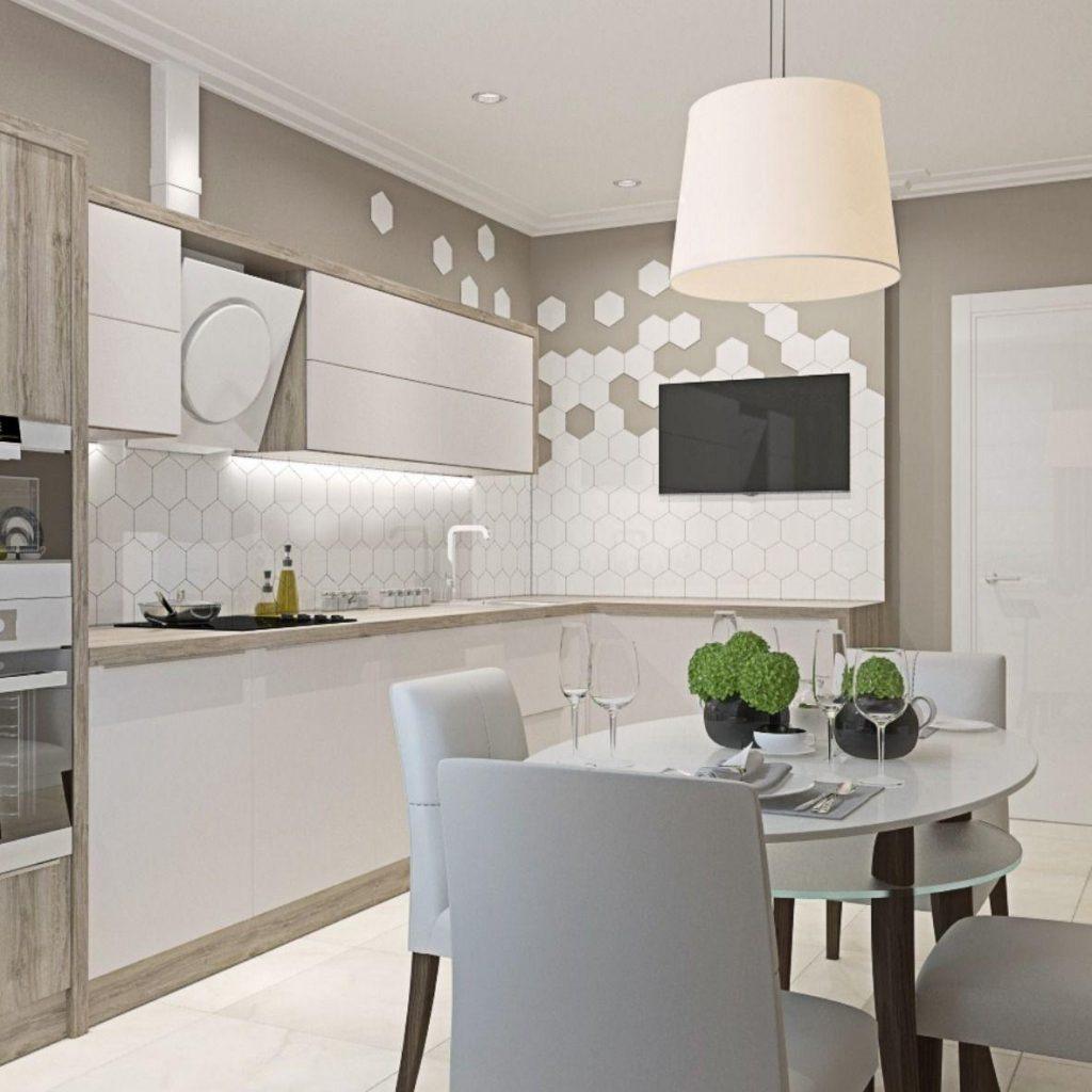 Фото кухни в светлых тонах
