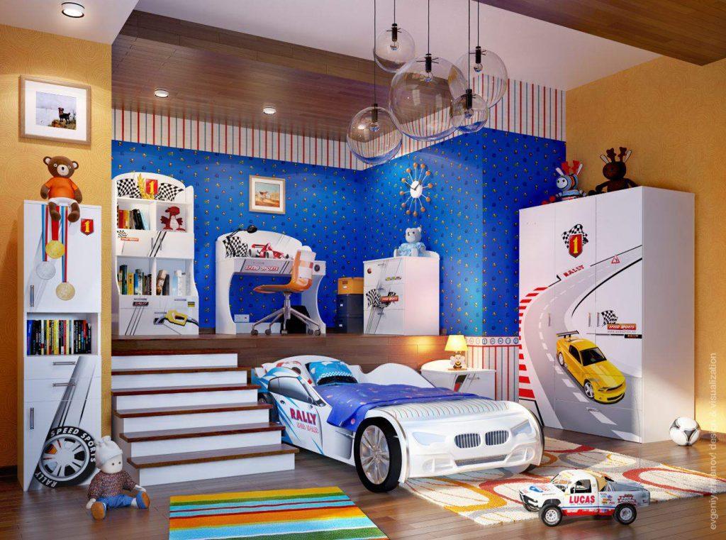 Комната в гоночном стиле