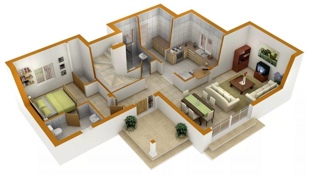 дизайн проект квартиры самому