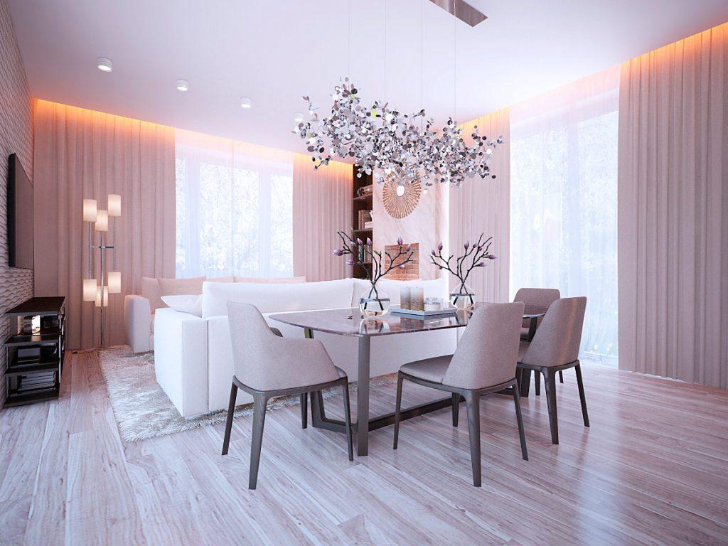 создание дизайн проекта помещения
