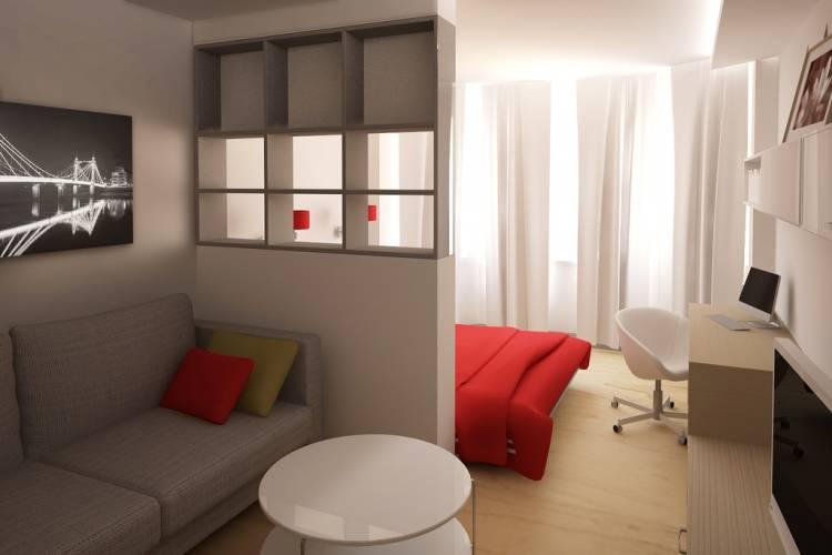 дизайн проект гостиной 18