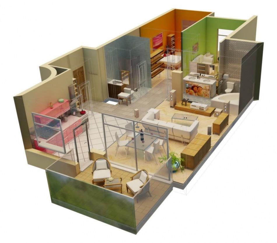 технический дизайн проект квартиры
