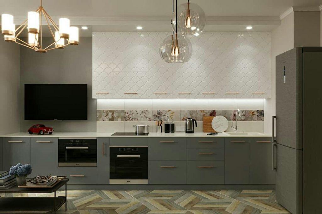 кухни небольшие дизайн проекты фото