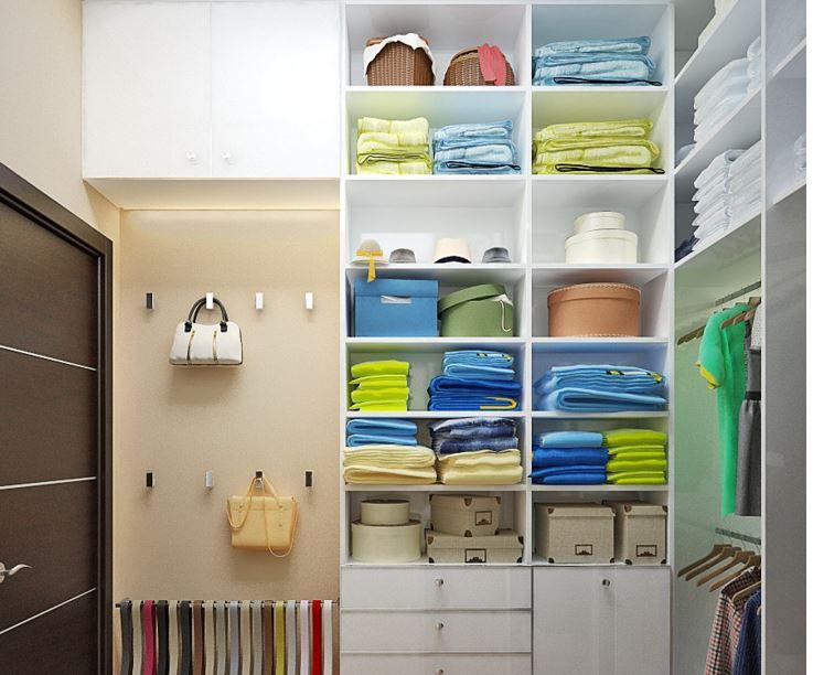гардеробные дизайн проекты фото