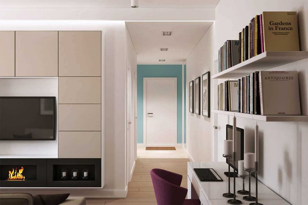 дизайн проект 2 х комнатной квартиры