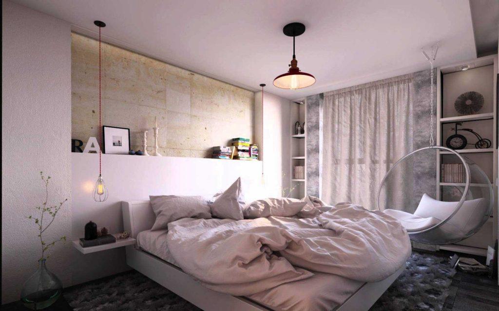 дизайн проект 2 комнатной квартиры фото