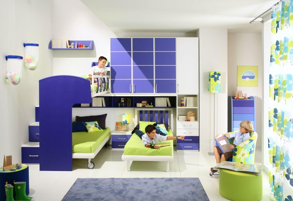 дизайн проект детской спальни