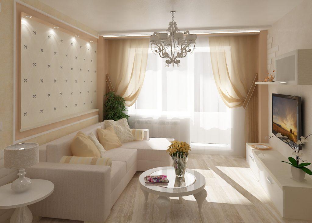 дизайн проект 60 м квартира