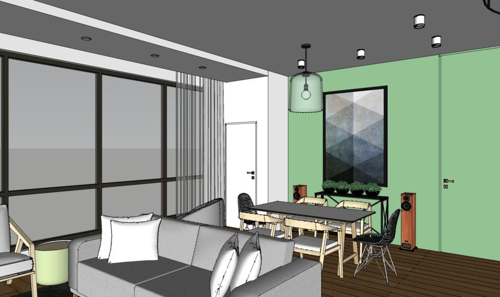 дизайн проект квартиры бесплатно  от студентов