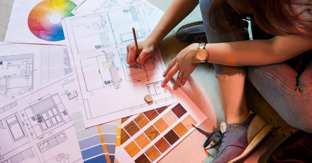 дизайн проект квартиры  от студентов