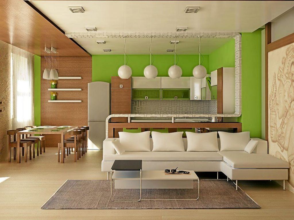 дизайн проект кухни гостиной 20 кв