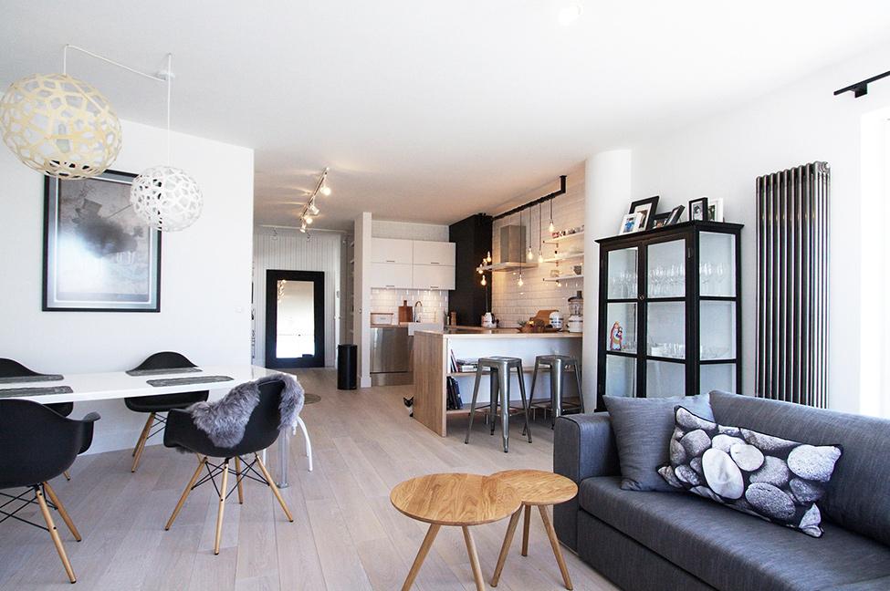 дизайн проект дома  в скандинавском стиле