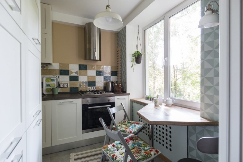 дизайн проект кухни 5 кв м