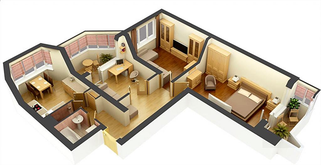 дизайн проект квартиры новостройки