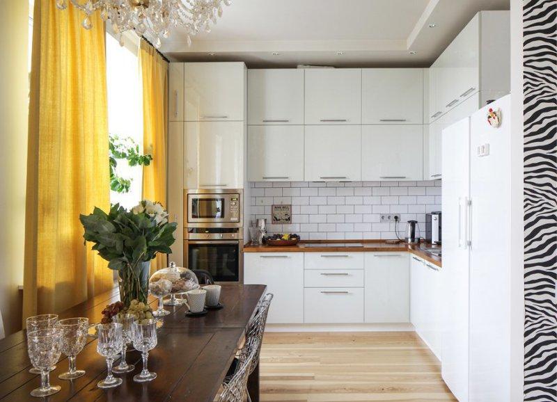угловые кухни фото дизайна современных проектов