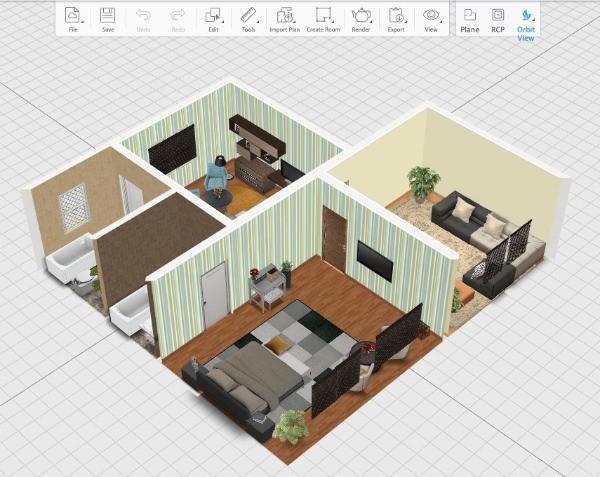 программа  для создания дизайн проекта квартиры