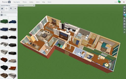 бесплатная программа  для дизайн проекта квартиры