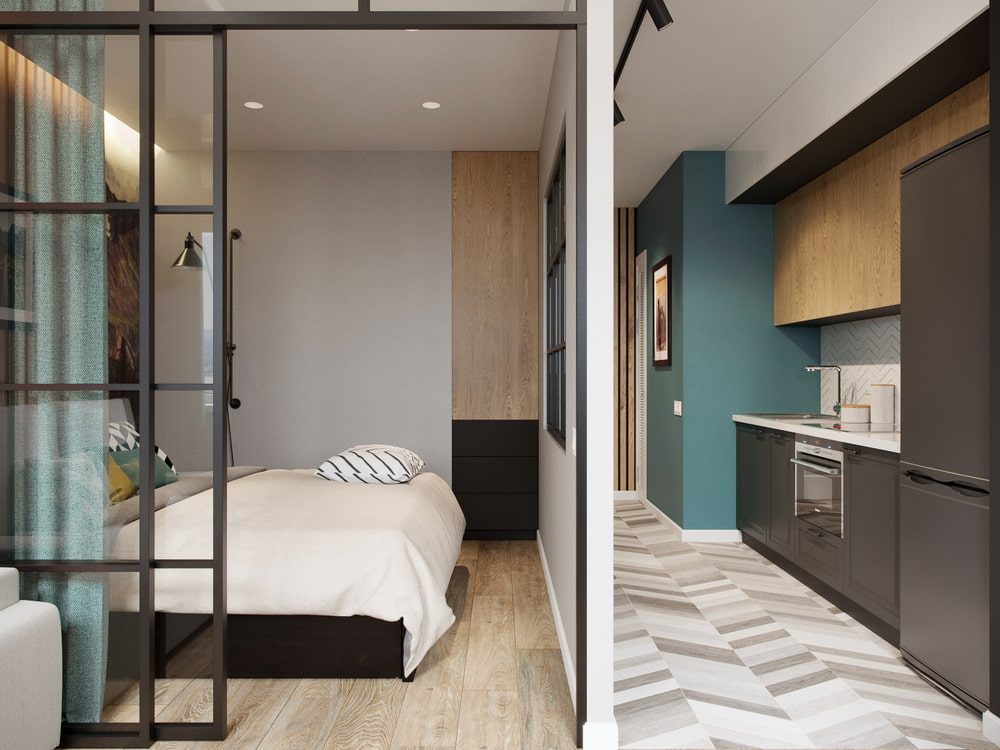 Дизайн-проект квартиры на 40 кв.м.