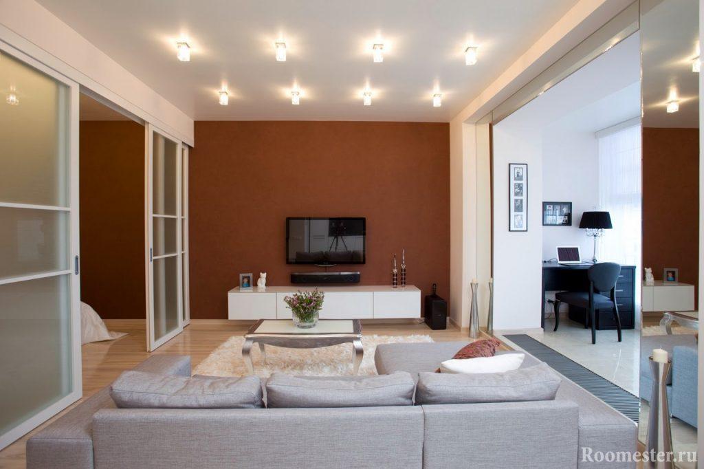 Дизайн-проект квартиры 38 кв.м.