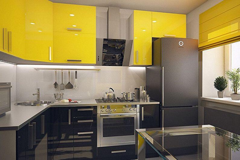 Дизайн-проект кухни 3 на 3 метра