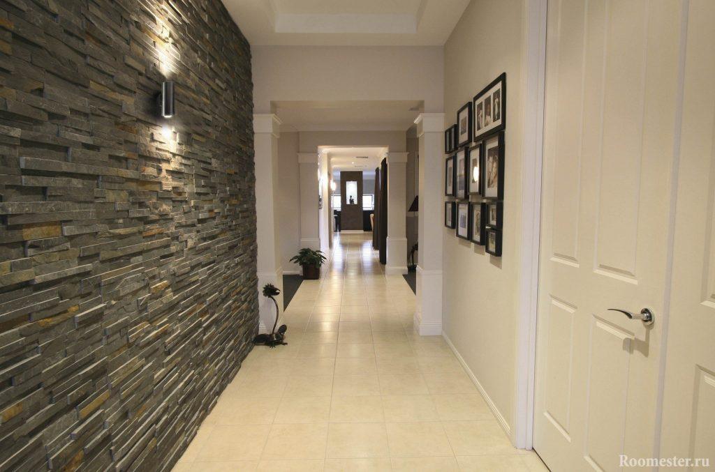 Dizajn uzkogo koridora