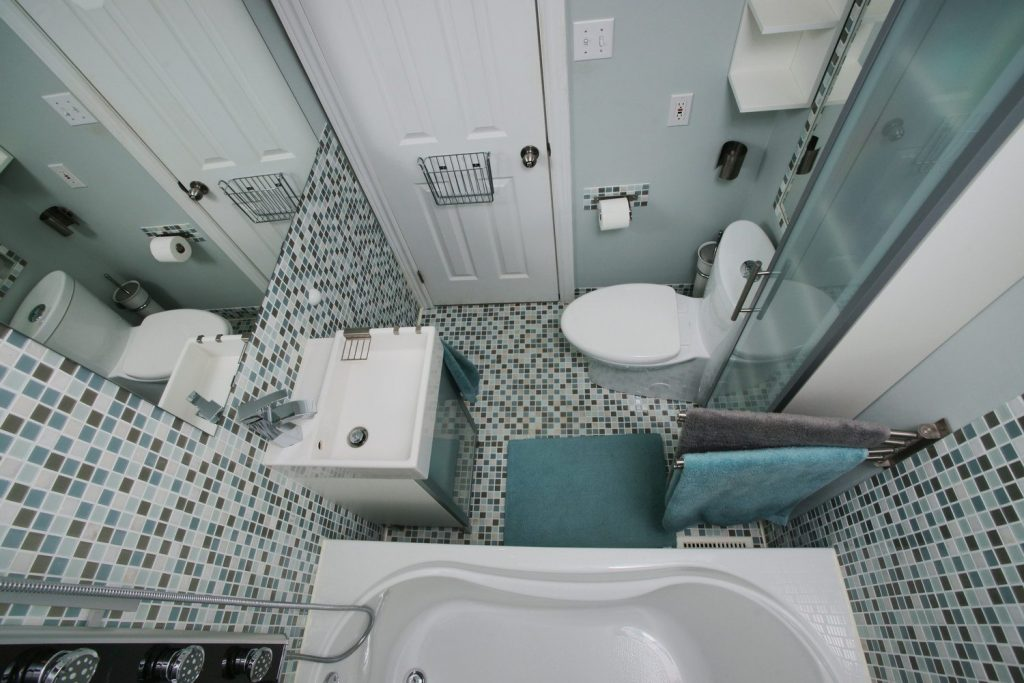 дизайн-проект ванной комнаты 2 на 2